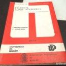 Libros antiguos: ATAPUERCA - EL SANTUARIO DE LA GALERÍA DEL SILEX 1976 . Lote 165756306
