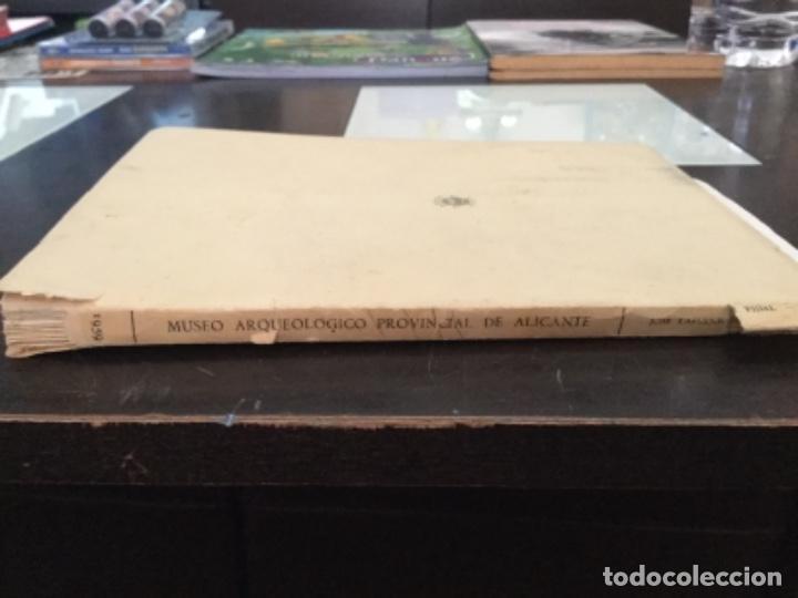 Libros antiguos: Museo Arqueológico provincial de Alicante 1959 - Foto 6 - 165756766
