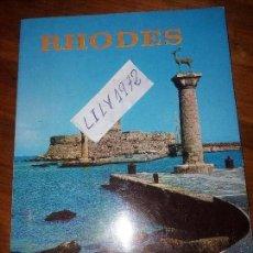 Libros antiguos: LIBRO FOTOGRAFIAS RHODES OLYMPIC COLOR. Lote 166580770