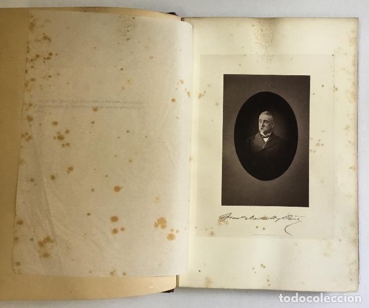 Libros antiguos: APUNTES ARQUEOLÓGICOS DE... - MARTORELL Y PEÑA, Francisco. DEDICADO - Foto 3 - 168728376