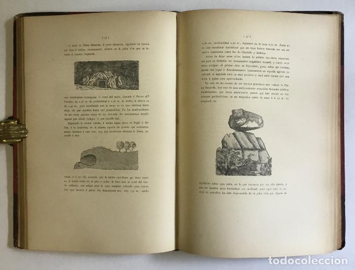 Libros antiguos: APUNTES ARQUEOLÓGICOS DE... - MARTORELL Y PEÑA, Francisco. DEDICADO - Foto 5 - 168728376