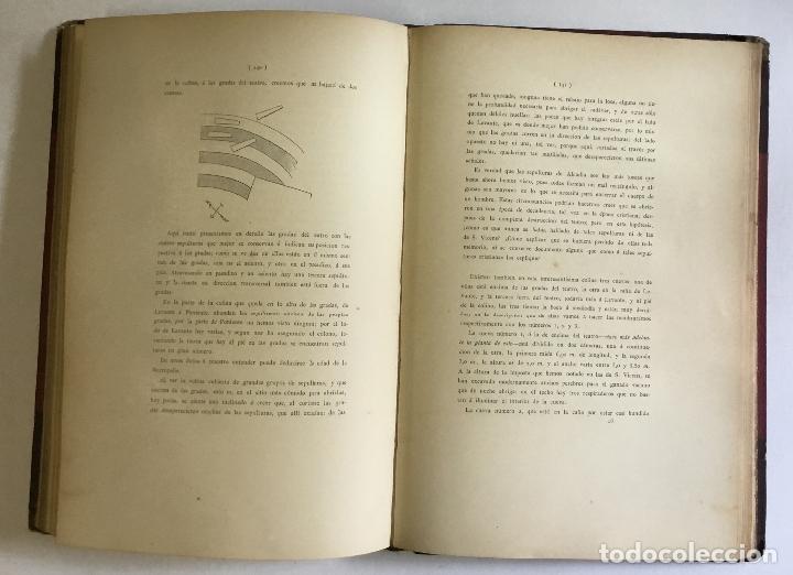 Libros antiguos: APUNTES ARQUEOLÓGICOS DE... - MARTORELL Y PEÑA, Francisco. DEDICADO - Foto 7 - 168728376