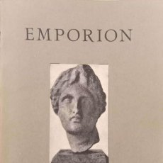 Libros antiguos: EMPORION. Lote 171402390