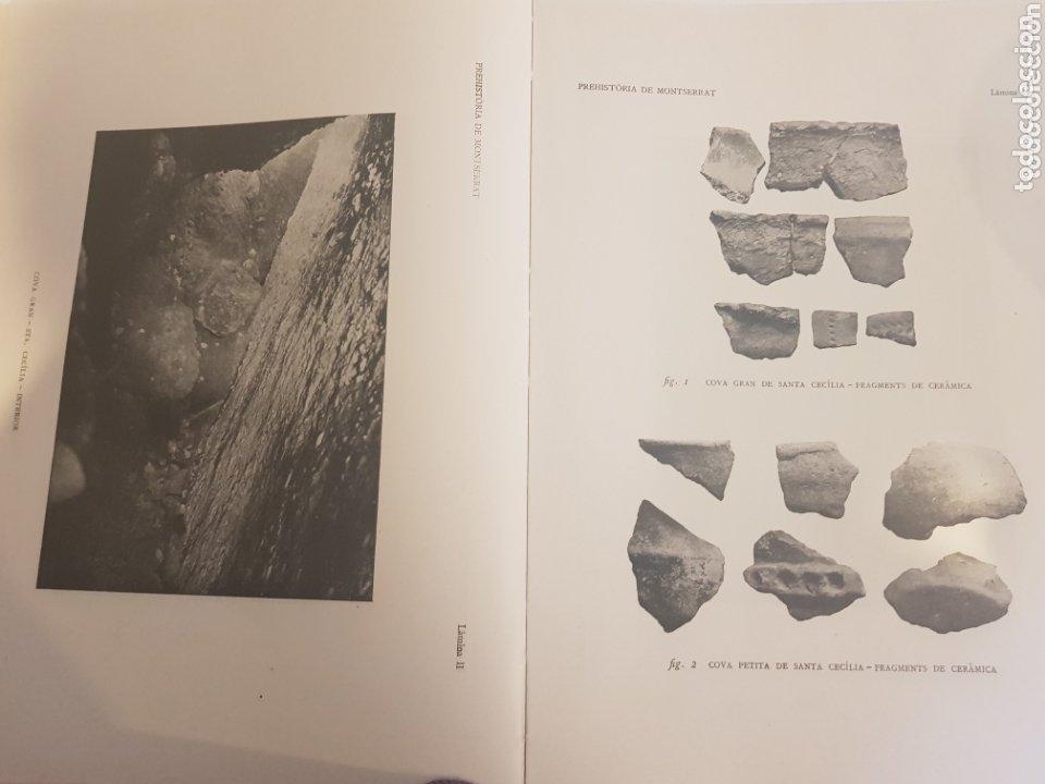 Libros antiguos: PREHISTORIA DE MONTSERRAT 1925 - Foto 8 - 172301278