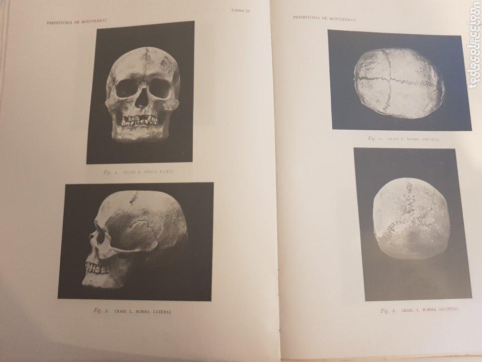 Libros antiguos: PREHISTORIA DE MONTSERRAT 1925 - Foto 9 - 172301278