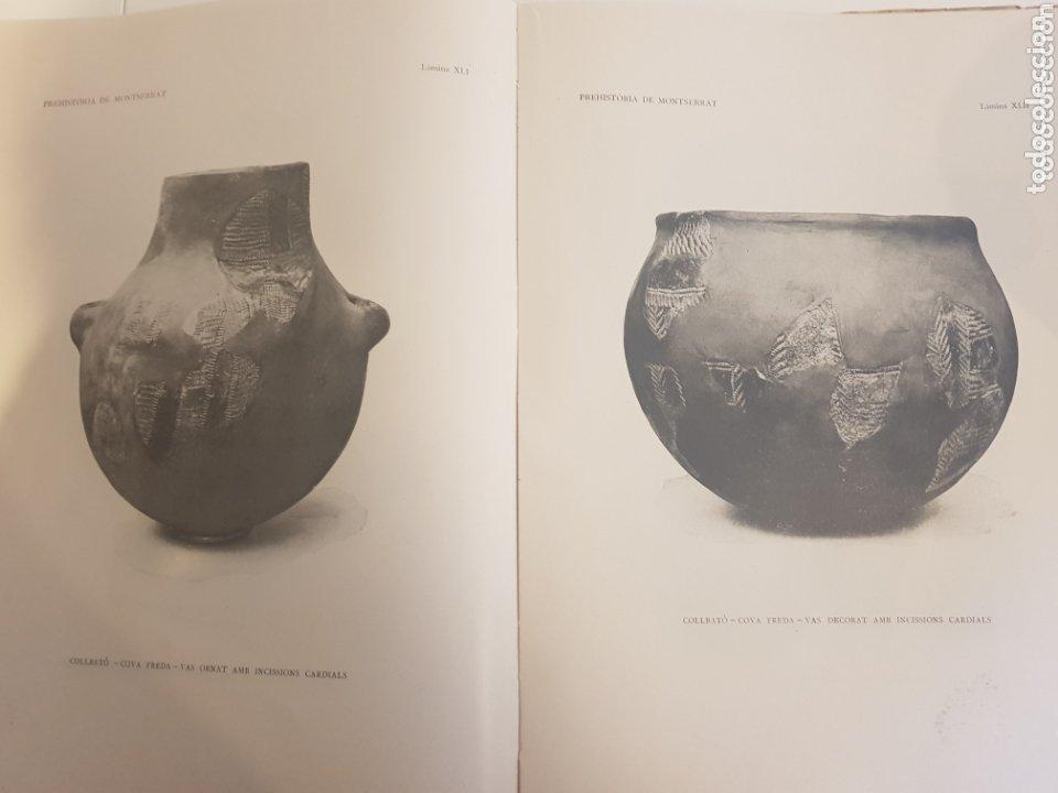 Libros antiguos: PREHISTORIA DE MONTSERRAT 1925 - Foto 10 - 172301278