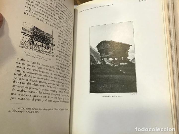 Libros antiguos: 4 en 1 - hombre fosil, horreos y palafitos, estelas discoideas, necropoli de Ibiza - obermaier vives - Foto 8 - 172588714