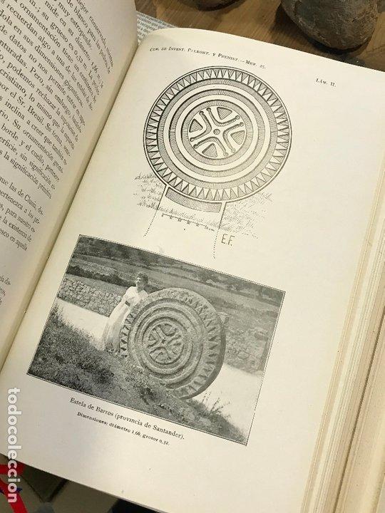 Libros antiguos: 4 en 1 - hombre fosil, horreos y palafitos, estelas discoideas, necropoli de Ibiza - obermaier vives - Foto 10 - 172588714