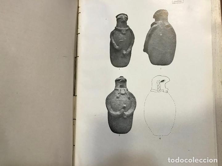 Libros antiguos: 4 en 1 - hombre fosil, horreos y palafitos, estelas discoideas, necropoli de Ibiza - obermaier vives - Foto 14 - 172588714