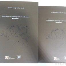 Libros antiguos: MISCELANEA EN HOMENAJE A VICTORIA CABRERA. 2 VOLÚMENES.. Lote 173875750