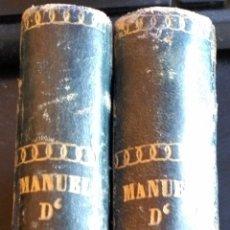 Libros antiguos: NOUVEAU MANUEL COMPLET D´ARCHEOLOGIE OU TRAITE SUR LES ANTIQUITES GRECQUES, ETRUSQUES, ROMAINES, EGY. Lote 173715014