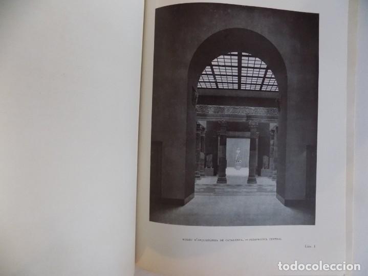 Libros antiguos: LIBRERIA GHOTICA. SERVEI D ´EXCAVACIONS I ARQUEOLOGIA DE CATALUNYA.MEMORIA 1936-1937.ILUSTRADO.RARO. - Foto 2 - 173998378