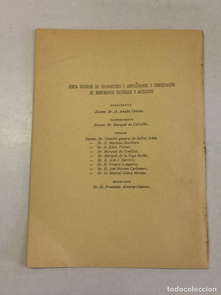 Libros antiguos: José Ramón Mélida y Blas Taracena Aguirre: Memoria excavaciones de Numancia 1920-1921 (1921) - Foto 3 - 174996768