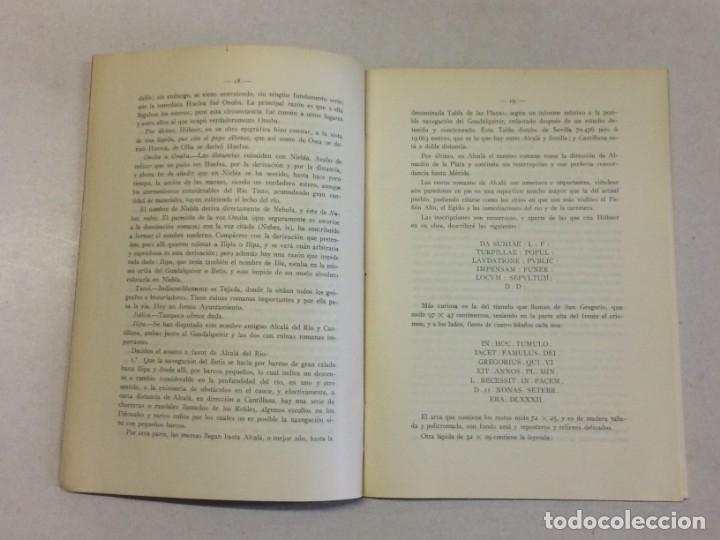 Libros antiguos: Antonio Blázquez y Delgado, Angel Blázquez y Jiménez: Memoria excavaciones vías romanas de Albacete - Foto 4 - 174996832