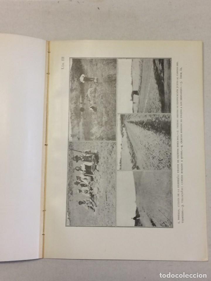 Libros antiguos: Antonio Blázquez y Delgado, Angel Blázquez y Jiménez: Memoria excavaciones vías romanas de Albacete - Foto 5 - 174996832