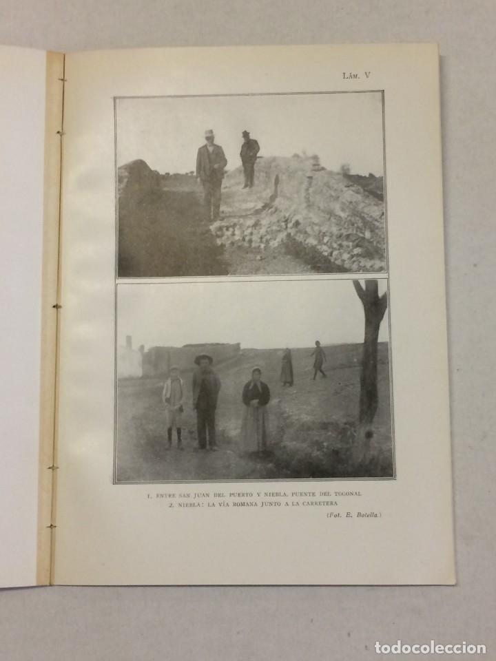 Libros antiguos: Antonio Blázquez y Delgado, Angel Blázquez y Jiménez: Memoria excavaciones vías romanas de Albacete - Foto 6 - 174996832