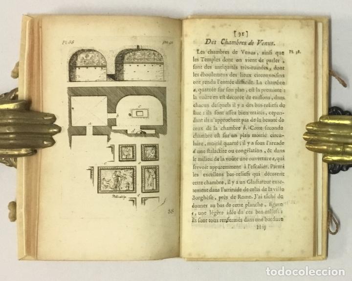 Libros antiguos: OBSERVATIONS SUR LES ANTIQUITÉS DE LA VILLE DHERCULANUM. Avec quelques reflexions sur la Peinture & - Foto 6 - 123176459