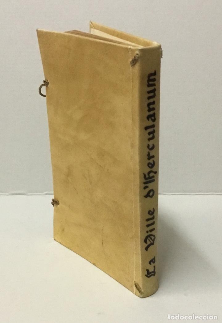 Libros antiguos: OBSERVATIONS SUR LES ANTIQUITÉS DE LA VILLE DHERCULANUM. Avec quelques reflexions sur la Peinture & - Foto 8 - 123176459