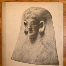 Livros antigos: L-LES TERRACUITES CARTAGINESES D'EIVISSA. JOSEP COLOMINIES ROCA AMB DEDICATORIA. Lote 176300007