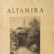 Libros antiguos: ALTAMIRA. (HUGO OBERMAIER. BARCELONA, 1929. IV CONGRESO INTERNACIONAL ARQUEOLOGÍA. Lote 177487529