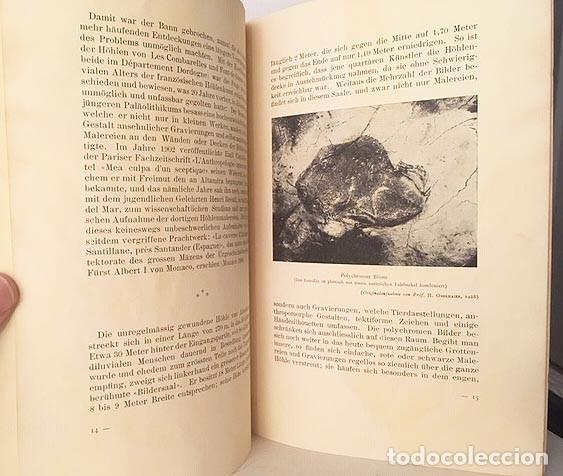Libros antiguos: Altamira. (Hugo Obermaier. Barcelona, 1929. IV Congreso Internacional Arqueología - Foto 2 - 177487529