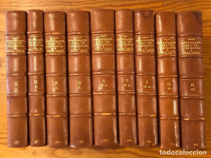 Libros antiguos: BIBLIOGRAFIA DELL´AR-CHEOLOGIA DELL ARTE-11TOMOS(13€-Und)-TOMOS II - Foto 2 - 177680055