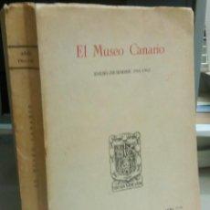Libros antiguos: ESTUDIO ANTROPOLOGICO DE LOS ESQUELETOS INHUMADOS EN TUMULOS DE LA REGION GALDAR, AÑO 1961, L11852. Lote 178716756