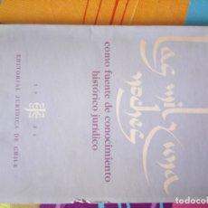 Libros antiguos: LAS MIL Y UNA NOCHES COMO FUENTE DE CONOCIMIENTO JURÍDICO . Lote 178968807