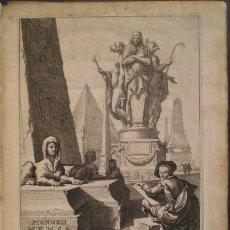 Libros antiguos: PIGNORII PATAVINI, LAURENTII: MENSA ISIACA QUA SACRORUM APUD AEGYTIOS RATIO ... 1669. Lote 179192745