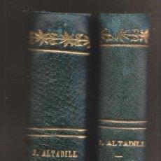 Libros antiguos: JULIO ALTADILL: CASTILLOS MEDOEVALES DE NABARRA. ZARAUZ, 1934. NAVARRA. Lote 180425761