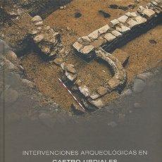 Libros antiguos: PEDRO RASINES Y J. M. MORLOTE: INTERVENCIONES ARQUEOLÓGICAS EN CASTRO URDIALES TOMO I. Lote 181033228