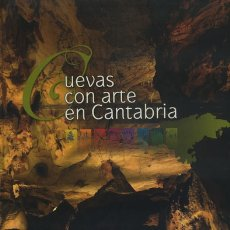 Libros antiguos: CUEVAS CON ARTE EN CANTABRIA.. Lote 181101070