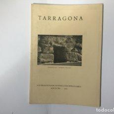 Libros antiguos: TARRAGONA (JOAQUÍN M. NAVASCUÉS) BARCELONA, 1929. TEXTO ALEMÁN. ARQUEOLOGÍA. Lote 181898402