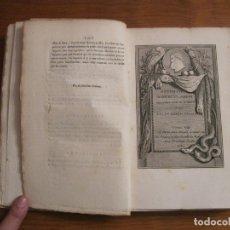 Libros antiguos: ANTIQUITÉS D HERCULANUM (VOL.VIII), 1789. M. DAVID. Lote 182706316