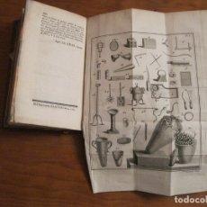 Libros antiguos: RECHERCHES SUR LES RUINES D HERCULANUM, 1770. FOUGEROUX DE BONDAROY. GRABADOS. Lote 182733452