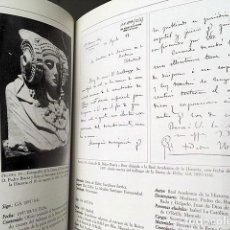 Libros antiguos: ARCHIVO DEL GABINETE DE ANTIGUEDADES. CATÁLOGO E ÍNDICES. (MARTIN ALMAGRO-GORBEA . Lote 183346392