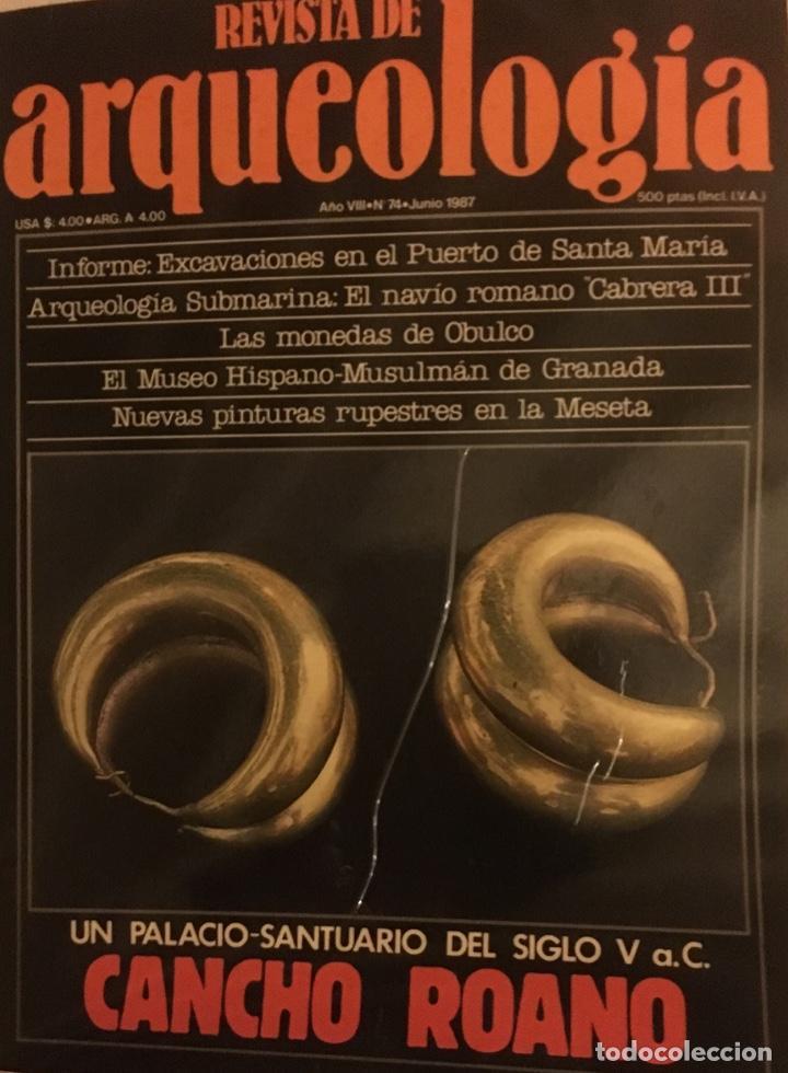 OFERTA REVISTA ARQUEOLOGÍA FASCÍCULOS A 75 CTMOS. PIDE NÚMEROS QUE TE FALTAN. (Libros Antiguos, Raros y Curiosos - Ciencias, Manuales y Oficios - Arqueología)