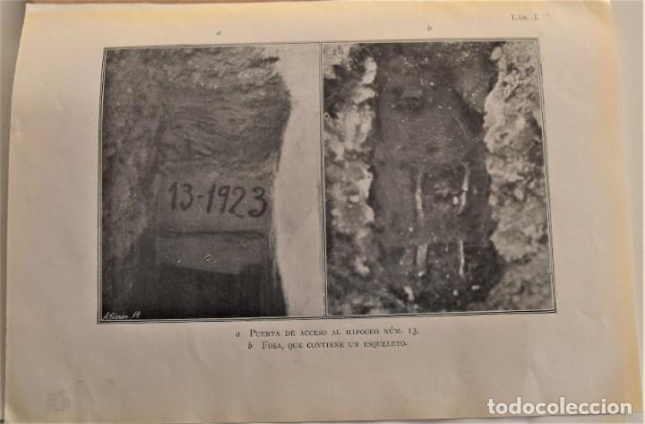 Libros antiguos: MEMORIA DE LAS EXCAVACIONES EN IBIZA DEL AÑO 1923 - CARLOS ROMÁN - MADRID 1924 - Foto 5 - 184019015
