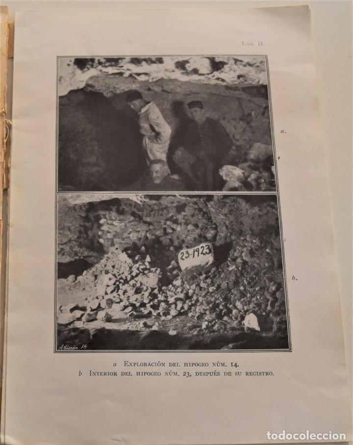 Libros antiguos: MEMORIA DE LAS EXCAVACIONES EN IBIZA DEL AÑO 1923 - CARLOS ROMÁN - MADRID 1924 - Foto 6 - 184019015