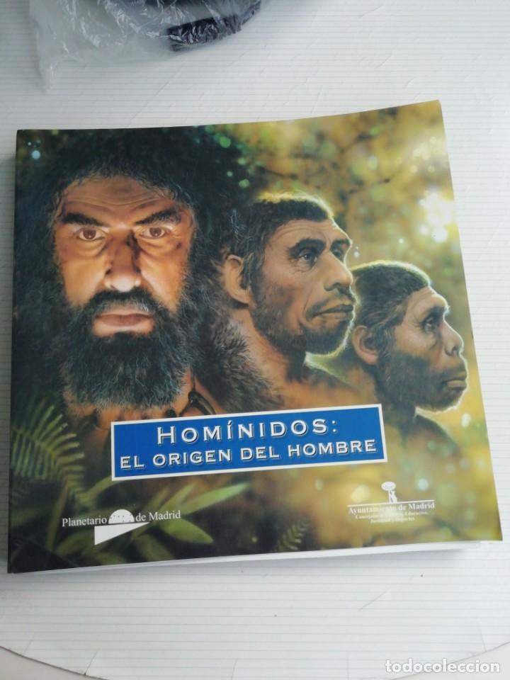 HOMINIDOS, EL ORIGEN DEL HOMBRE (Libros Antiguos, Raros y Curiosos - Ciencias, Manuales y Oficios - Arqueología)