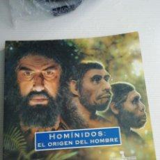 Libros antiguos: HOMINIDOS, EL ORIGEN DEL HOMBRE. Lote 184529220