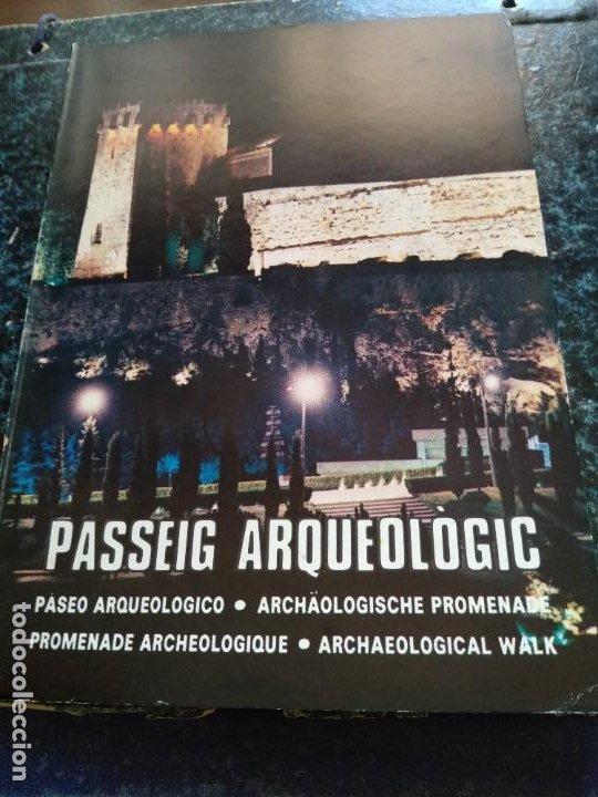 TARRAGONA - PASSEIG ARQUEOLOGIC - ANY 1977 (Libros Antiguos, Raros y Curiosos - Ciencias, Manuales y Oficios - Arqueología)