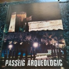 Libros antiguos: TARRAGONA - PASSEIG ARQUEOLOGIC - ANY 1977. Lote 185059346