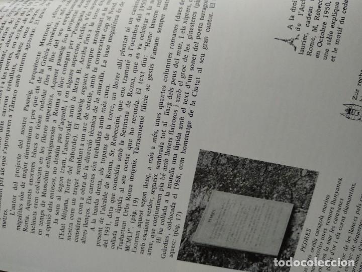 Libros antiguos: TARRAGONA - PASSEIG ARQUEOLOGIC - ANY 1977 - Foto 3 - 185059346