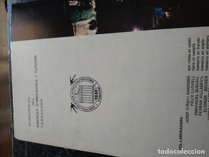 Libros antiguos: TARRAGONA - PASSEIG ARQUEOLOGIC - ANY 1977 - Foto 8 - 185059346