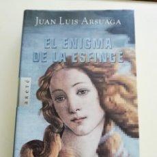 Libros antiguos: EL ENIGMA DE LA ESFINGE DE ARSUAGA. Lote 186306938