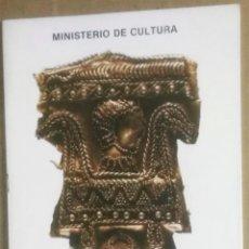 Libros antiguos: MUSEO DE CÁCERES, GUÍA BREVE DE LA SECCIÓN DE ARQUEOLOGÍA, CÁCERES, 1988,. Lote 190016375