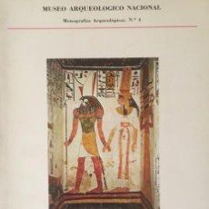 Libros antiguos: LA TUMBA DE NEFERTARI. MARTIN ALMAGRO, F. PRESEDO. MUSEO ARQUEOLOGICO NACIONAL.. Lote 190036646
