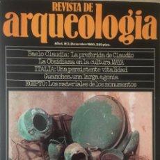 Libros antiguos: REVISTA DE ARQUEOLOGIA A 75 CTMO. EJEMPLAR. OFERTA. VER EXISTENCIAS.. Lote 190057070