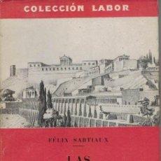 Libros antiguos: FELIX SARTIAUX LAS CIVILIZACIONES ANTIGUAS DEL ASIA MENOR.. Lote 192479405